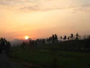 Sunrise di Gersapi ( sebelah timur )
